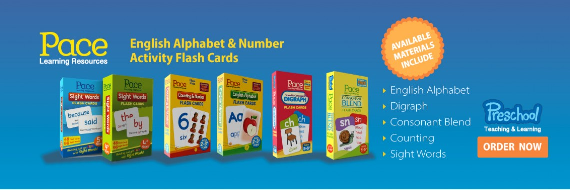 Pace Learning Resources Flash Cards
