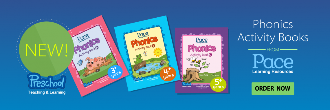 Pace Learning Resources Phonic Activity Books