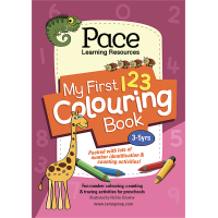 Pace LR My First 123 Colouring Book