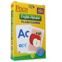 Pace LR English Alphabet Flash Cards