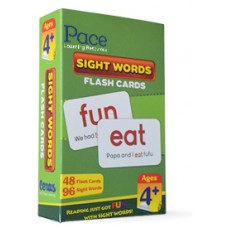 Pace LR Sight Words Flash Cards (4 yrs)