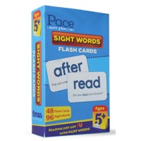 Pace LR Sight Words Flash Cards (5 yrs)