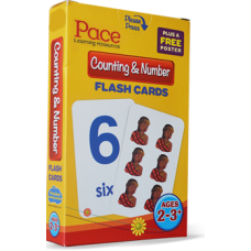 Pace LR Counting & Number Flash Cards